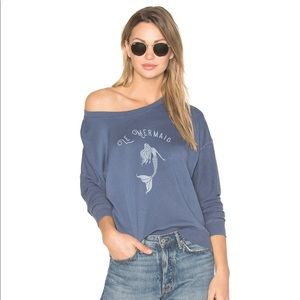 Rails Kelli Graphic Le Mermaid Blue Sweatshirt